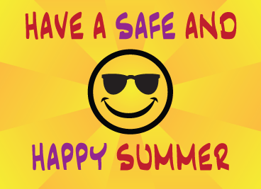 Hope everyone has a safe and happy summer!!!