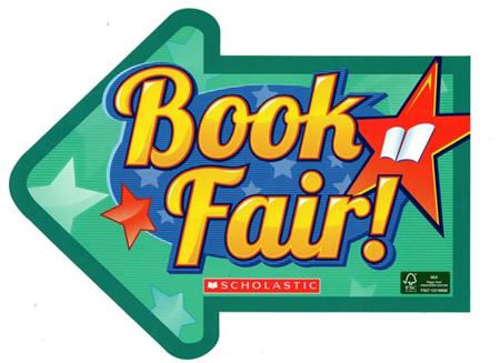Scholastic book fair arrow