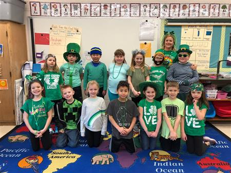 Box Tops Winners Earn a Crazy Hat Day in Mrs. Fisher's Class!