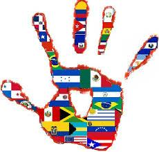 Latinamerican countries flags image