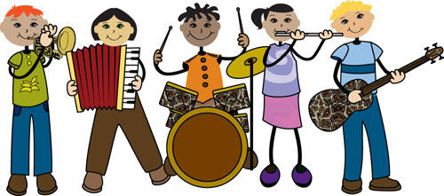 clipart of music bands - photo #20