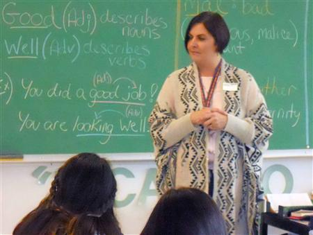Leadership Class Welcomes Seneca Nation Leader