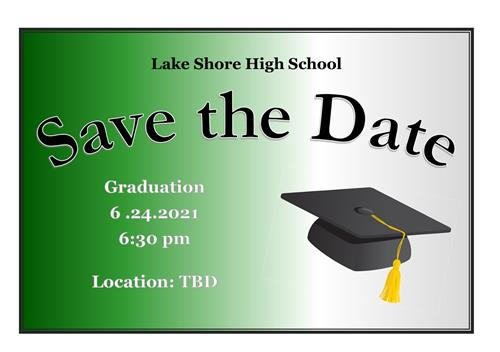 save the date for graduation