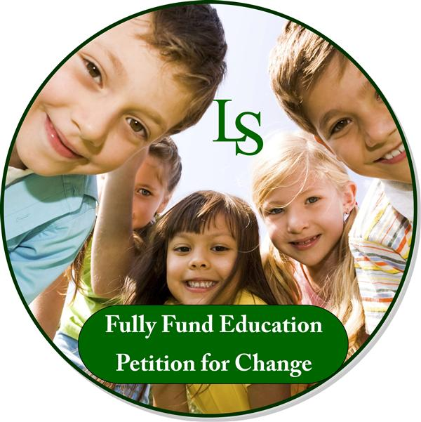 Fully Fund Education - Petition for Change