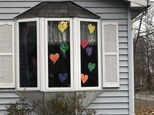 window show of hearts