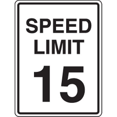 Speed Limit Sign