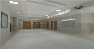 Planned HS addition lobby