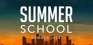 2018 Summer School Program