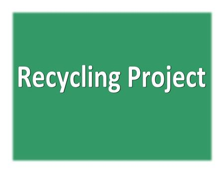 LS Senior Organizes Evans Recycling Project for Eagle Scout Project